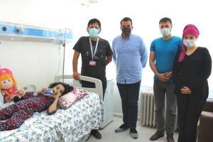 Skolyoz hastası Yağmur Ela, erken ameliyatla sağlığına kavuştu
