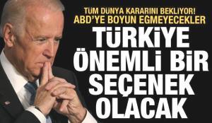 Tüm dünya ABD'nin kararını bekliyor! Türkiye masadaki önemli bir seçenek olacak