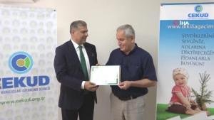 Türkiye Hastanesi'ne yeşil dostu hastane ünvanı verildi