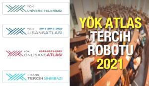 YÖK Atlas tercih robotu! 2021 Üniversite taban puanı, kontenjanı ve başarı sıralaması sorgulama!