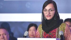 Afganistan'ı terk eden ülkenin ilk kadın belediye başkanı Ghafari, Taliban liderine seslendi: Ortaya çık