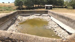 Afyonkarahisar'da su kaynakları tükendi! 150 yıllık pınarın son hali içler acıttı
