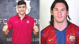 Barcelonalı genç Türk, kralın tahtına oturdu! 18'lik Yusuf Demir, Messi'nin rekoruna ortak oldu