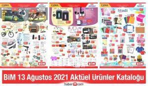 BİM 13 Ağustos 2021 Aktüel Kataloğu! Züccaciye, elektronik, kırtasiye ve elektrikli ürünler…