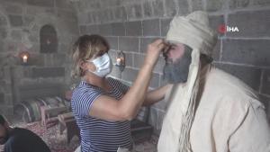 Bitlis'te TRT ekibi 'İki Nehrin Buluşması' adlı Feqiye Teyran belgesel çekimini gerçekleştirdi
