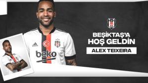 Brezilyalı yıldız Alex Teixeira, resmen Beşiktaş'ta