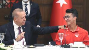 Cumhurbaşkanı Erdoğan: 'Gönülleri kazanıp umut oldunuz'