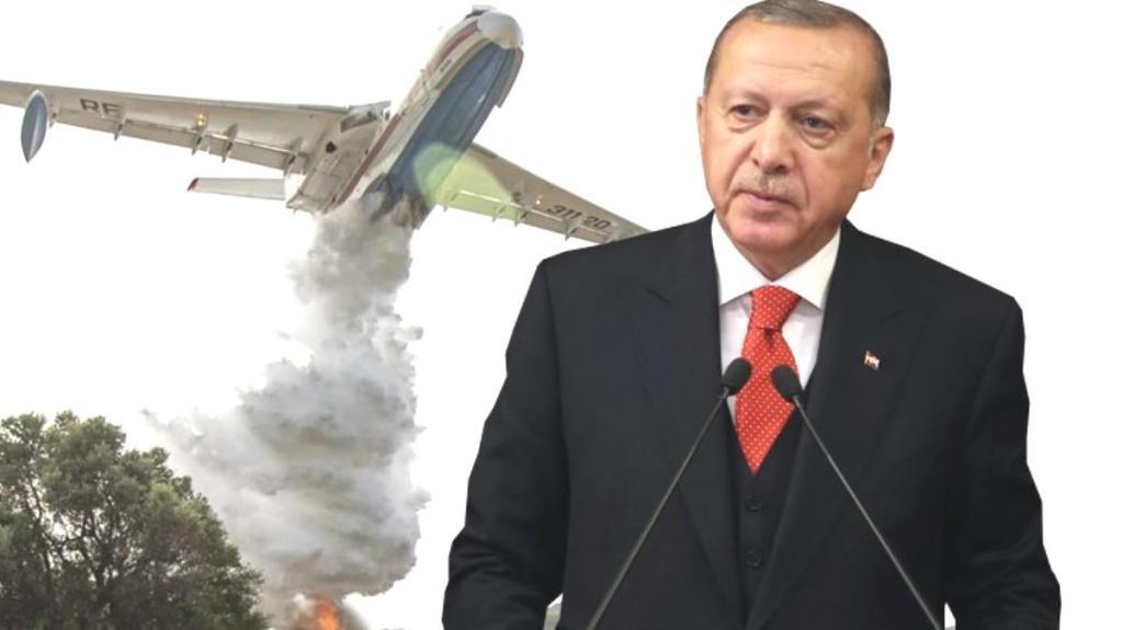 Cumhurbaşkanı Erdoğan'dan Türkiye'nin yangınla mücadelesine destek veren 7 ülke liderine teşekkür
