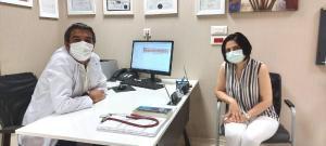 Doğum sonrası kalp damarı yırtılan genç kadın Türkiye'de sağlığına kavuştu