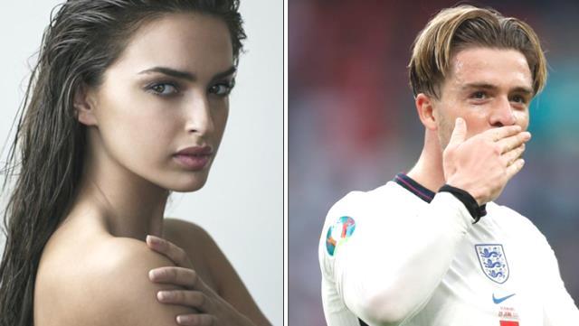 Futbolcu sevgilisi Grealish yüzünden ölüm tehditleri alan güzel model Sasha'nın psikolojisi bozuldu