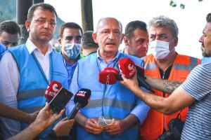 Kılıçdaroğlu Sel Bölgesinde: 'Doğa Tahribatının Yol Açtığı Tabloyla Karşı Karşıyayız'