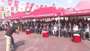 Kırgız Cumhuriyeti'nin bağımsızlığının 30. yılı anısına Er Manas heykeli dikildi
