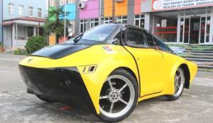 Lise öğrencilerinden 1 TL ile 100 KM gidebilen araç