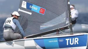 Milli yelkencimiz Alican Kaynar, Tokyo Olimpiyatları'nda salı günü altın madalya için yarışacak