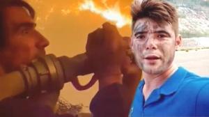 Orman yangınında canla başla çalışan İbrahim Çelikkol'dan açıklama