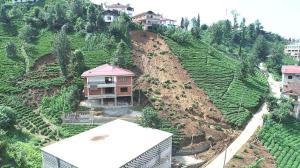 Rize'de sel afetinin altyapı hasarı ortaya çıktı