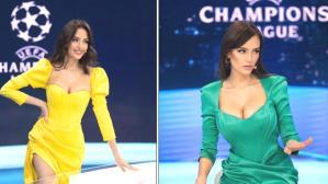 Şampiyonlar Ligi'nin güzel sunucusunun tatil paylaşımlarına beğeni yağdı! Türk hayranları çok ilgili