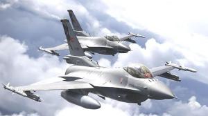 Son dakika: Polonya semalarında Türk F-16'lar! Gövde gösterisi
