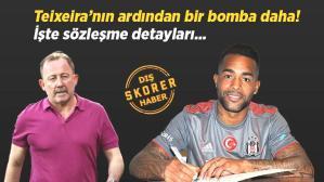 Son dakika transfer haberi: Alex Teixeira sonrası bir transfer daha! İşte sözleşmenin detayları…