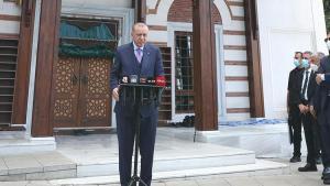 'Türkiye'de Şu Anda 300 Bin Afgan Göçmen Var' Diyen Erdoğan: 'Kapımızı Kapatamayız'