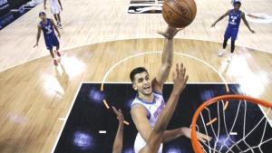 Türkiye'nin de artık Jordan'ı var! Ömer Faruk, NBA'deki ilk maçında Lakers'ı tek başına dağıttı
