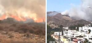 Yangınlarda Son Durum: Köyceğiz ve Bodrum'da Alevler Şiddetlendi