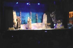 'Yunus'la Yürürken' tiyatrosu Eskişehirli izleyicilerle buluştu