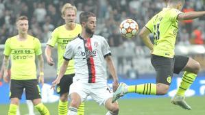Beşiktaş, Dortmund maçında koşu mesafesi rekoru kırdı ama bu sonuca etki etmedi