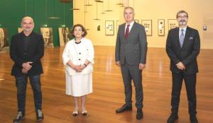 """""""Dün, Bugün, İstanbul"""" Sergisi Sakıp Sabancı Müzesi'nde kapılarını açtı"""