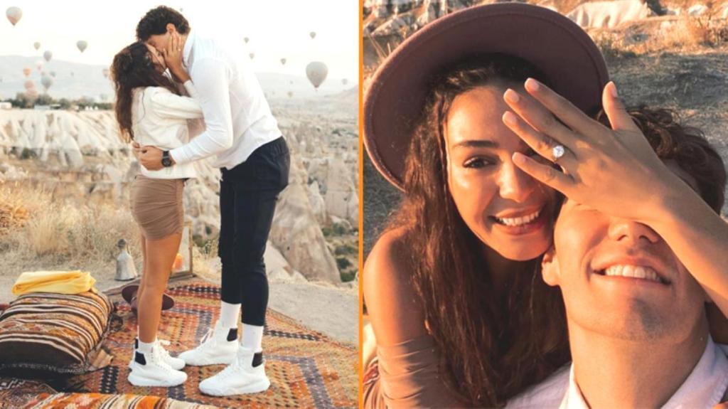 Ebru Şahin'e evlilik teklifi eden Cedi Osman'ın 5 karatlık tektaşa verdiği ücret belli oldu