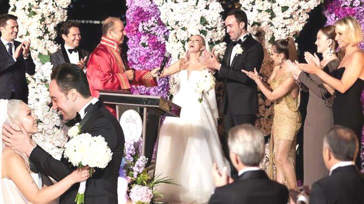 Ece Seçkin ile Çağrı Terlemez evlendi