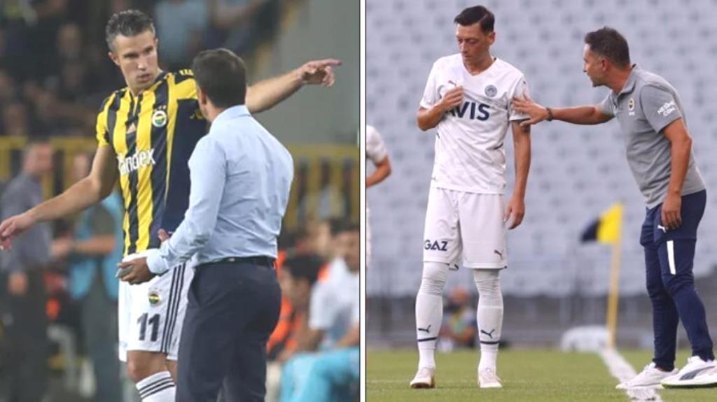 Fenerbahçe'de yeni Pereira-Van Persie vakası! Şimdi de Mesut Özil