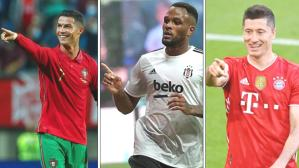 Ne Ronaldo ne de Lewandowski! 2021'in en golcüsü Beşiktaşlı Cyle Larin