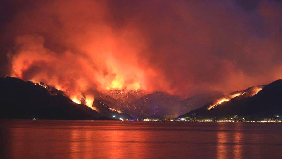 Orman Yangınları Yine Birilerinin İşine Yaradı: Marmaris'de Yangından 5 Gün Sonra Otel İnşaatına İzin