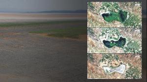 Sebebi iklim değil insan! Göller çöllere dönüyor