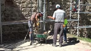 Sinop'ta kale surlarında restorasyon başladı