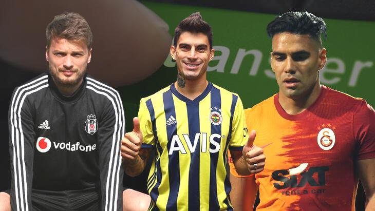 Son dakika transfer haberi – Süper Lig devlerinde fesih maliyetleri el yaktı! Falcao, Perotti, Ljajic…