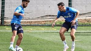 Vitor Pereira'dan özel karşılama! Fenerbahçe'nin yeni transferleri ilk kez takımla çalıştı