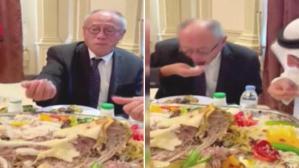 Yıllarca çubukla pilav yiyen Japon Büyükelçi'nin Suudi Arabistan'da zor anları