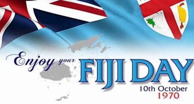 fiji day - Happy Fiji Day 2019!