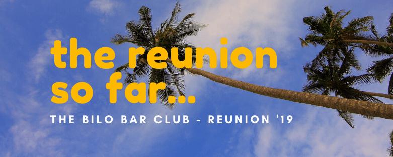 The reunion so far…