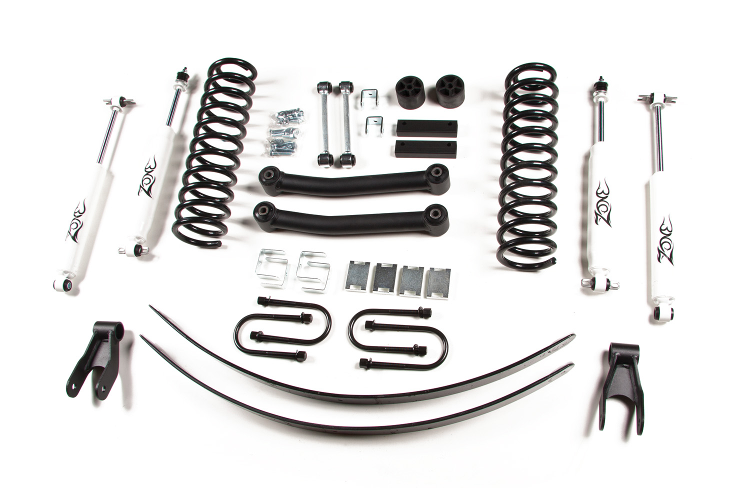 Zone Offroad 4 1 2 Coil Springs Lift Kit Jeep Xj