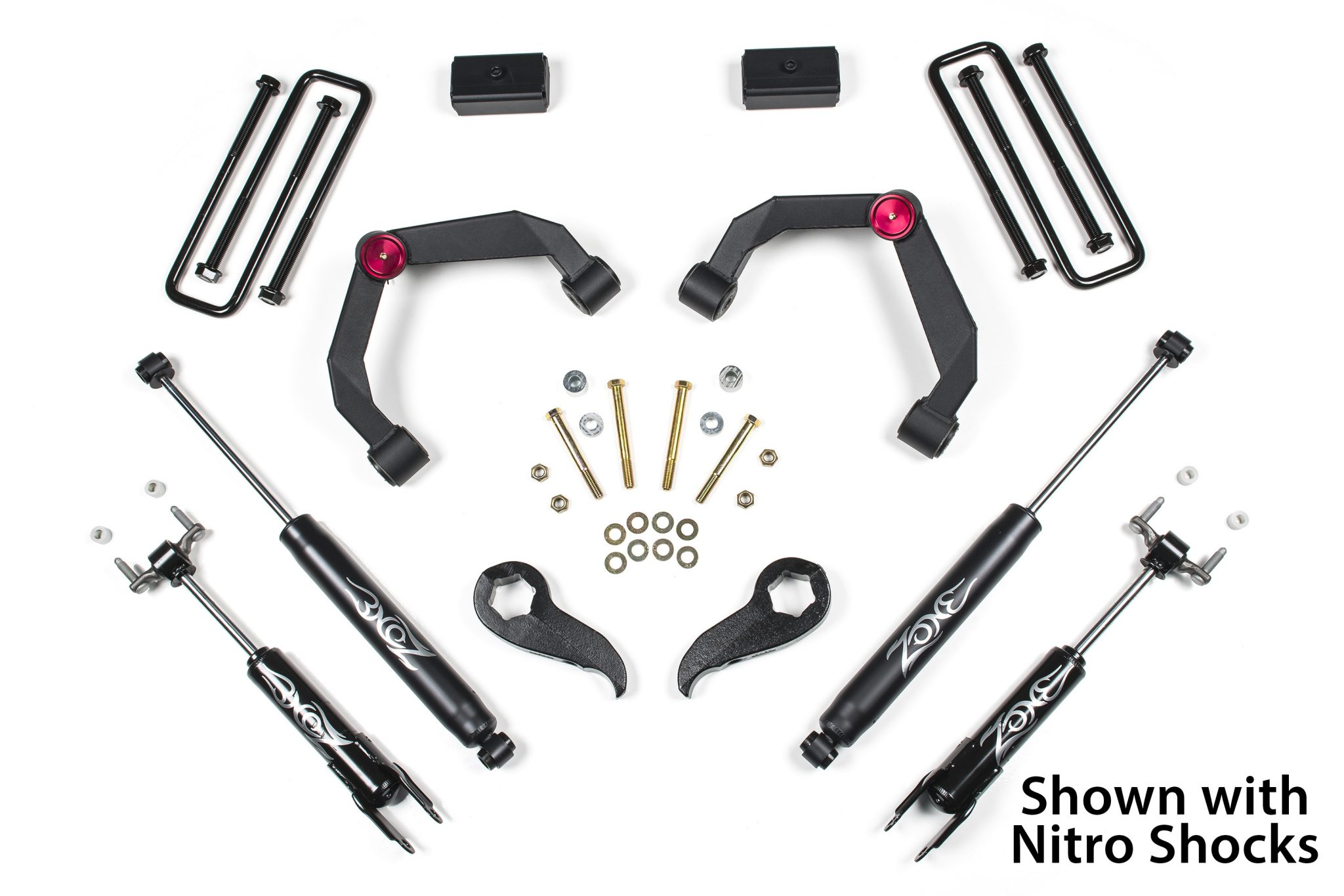 Zone Offroad 3 Torsion Lift Kit Chevy Gmc