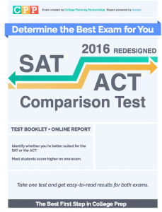 sat/act diagnostic test