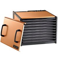 Excalibur dehydrator for jerky and biltong copper color