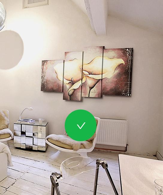 Se i quadri moderni per arredamento soggiorno non fanno troppo al caso tuo, oppure vorresti propendere per un'alternativa più easy e meno costosa, allora valuta anche le stampe su tela. Faq Come Appendere Un Quadro Multipannello