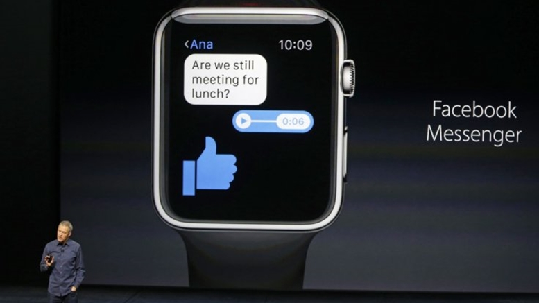 Facebook Messenger kini hadir di Apple Watch