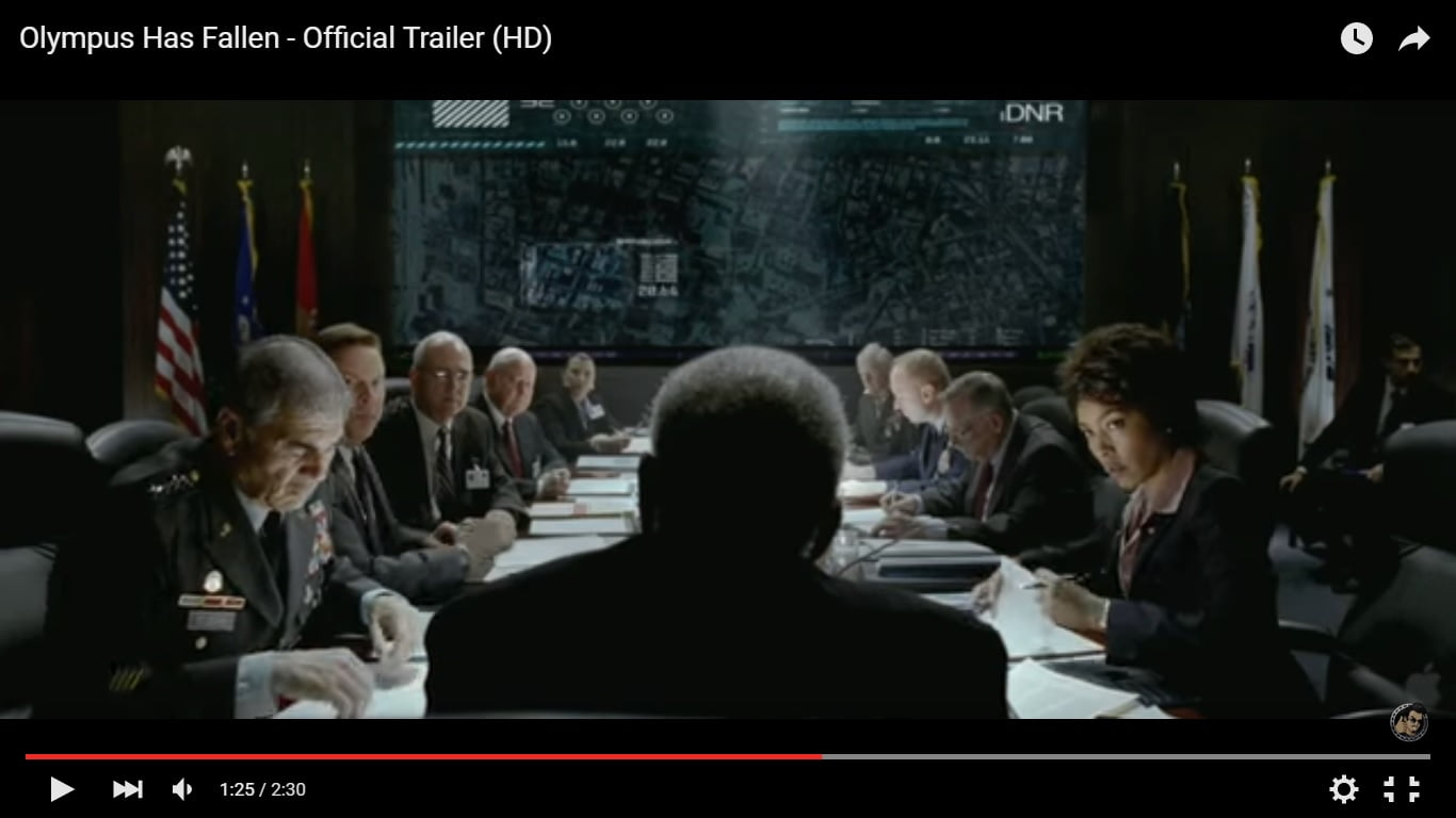Olympus Has Fallen Full Film Trailer