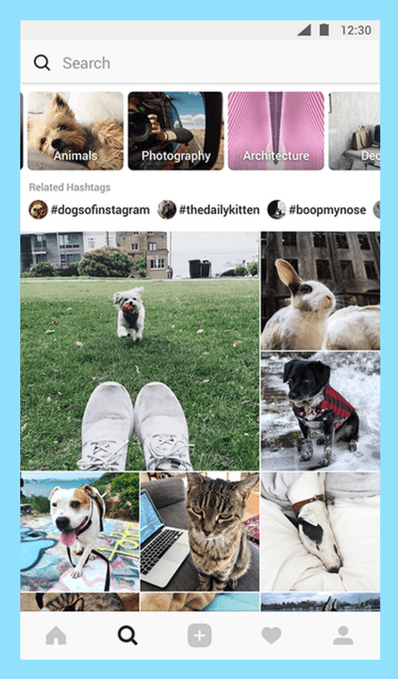 Instagram Update 2018 explore2