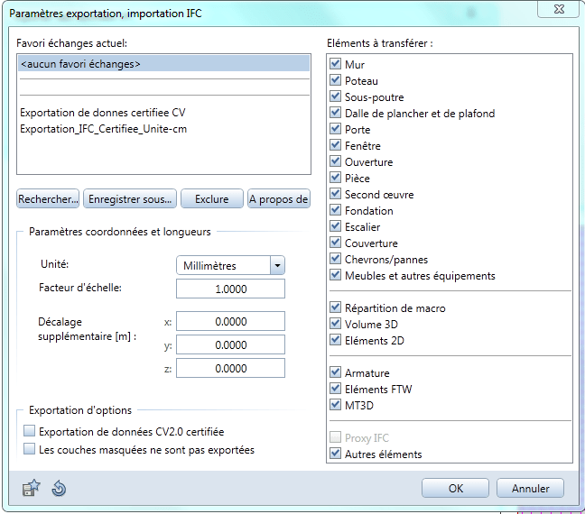 BIMblog_04_COBie_Space_Allplan-parametres-export-non-certifie